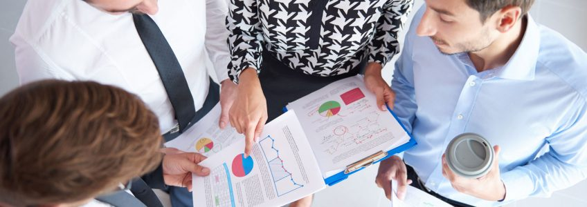 Personnel Analyzing Your Profit and Loss Statement