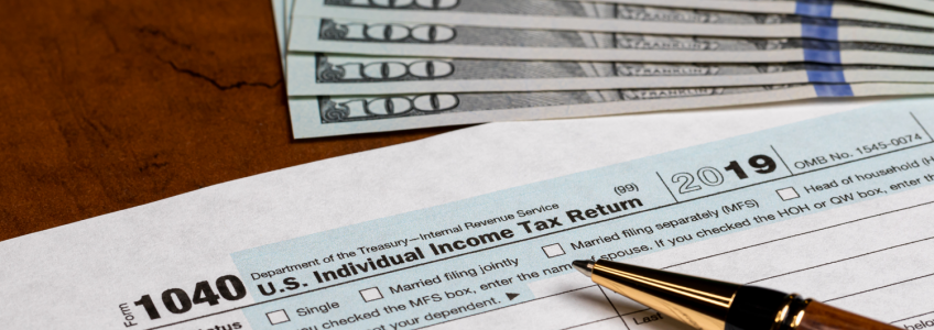 Tax Refund and 1040 Form